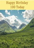 Happy Birthday - 100 Today - Option 1